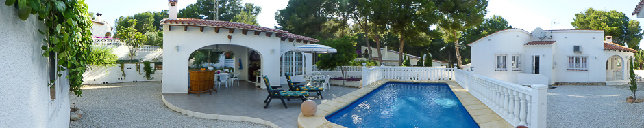 Holiday Villa Moraira Spain
